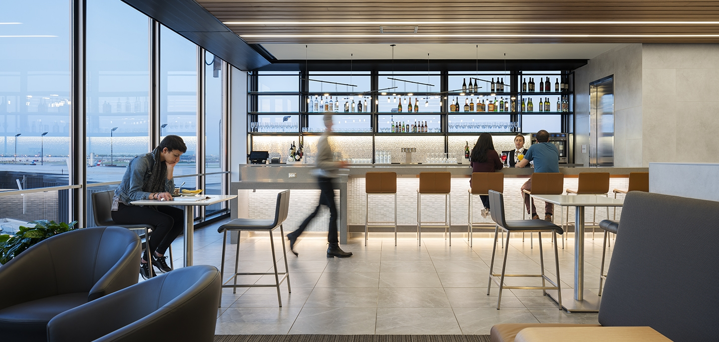 American Airlines Admirals Club Flagship Lounge